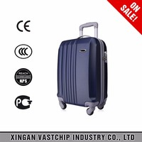 2016 fashion business type abs+pc airboard trolley suitcase bag