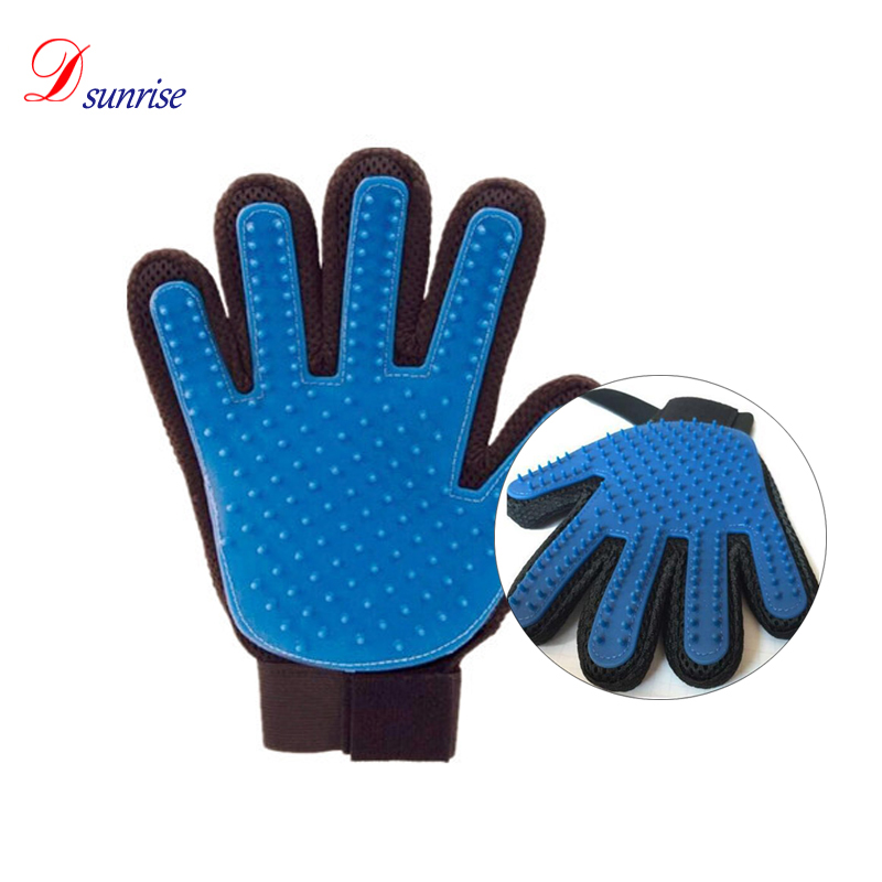 Pet Love <strong>Dog</strong> & Cat Grooming Glove Brush Glove - Deshedding & Massaging Tool