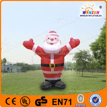 Promotional Fashionable Style Most Enjoyable Inflatable Lovely Santa Claus