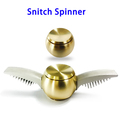 Factory Price Metal Snitch Finger Hand Spinner Toy with R188 Bearing