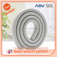 Beideli U shape NBR home furniture manufacturer high quality baby protective stripe table edge guard for baby safety