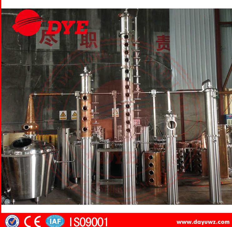 2015 new alcohol distillation equipment to make all kind of wine for sale