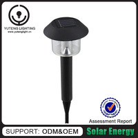 Made in China manufacturer solar powered garden lights