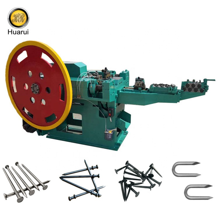 Professional machine manufacturers of automatic wire nail making machine