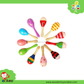 Baby Maracas Wooden Music Toy Maracas for kids