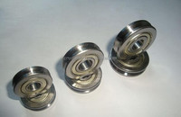 china supplier U groove gate wheel bearing for sliding door SG35N