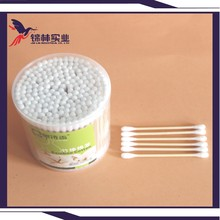 2016 trending products Surgical Cotton Swab with bamboo case