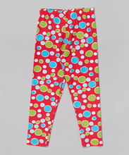 Newest Girls Leggings With Bubble Dot Little Girl Pant Fashion Baby Girl Wear Z-PT80804-9