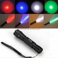 Wholesale OEM 501b 7W LED infrared flashlight Torch,Tactical Hunting LED Infrared Flashlight