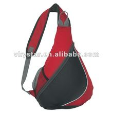 Cross strap sport sling backpacks for school teenagers