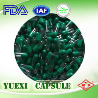 empty pharmaceutical capsule natural gelatin health product