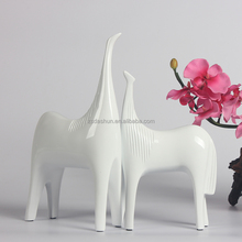 Modern simple resin animal horse sculpture home decoration