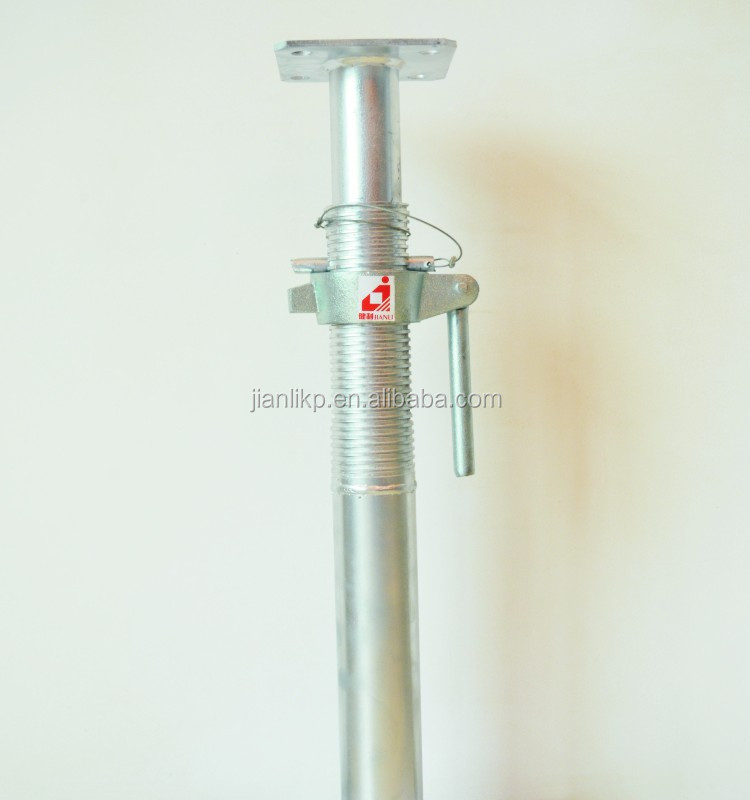 Adjustable Steel Post Shores : Heavy load adjustable steel post shore for sale buy