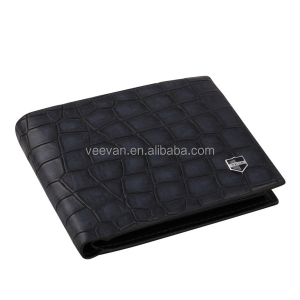 2014Men leather wallet for hot sale,VEEVAN design your own wallet