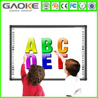 wireless finger touch two user interactive infrared IWB whiteboard smart board for education