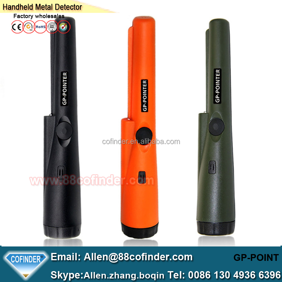 New Arrived CSI Pinpointing Hand Held GP Pro Pointer Metal Detector Pinpointer Army green/<strong>orange</strong>/black Detector