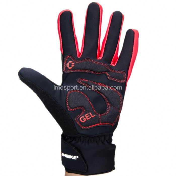 Full Finger Men Cycling Gloves Slip mtb bike/bicycle racing sport breathable shockproof