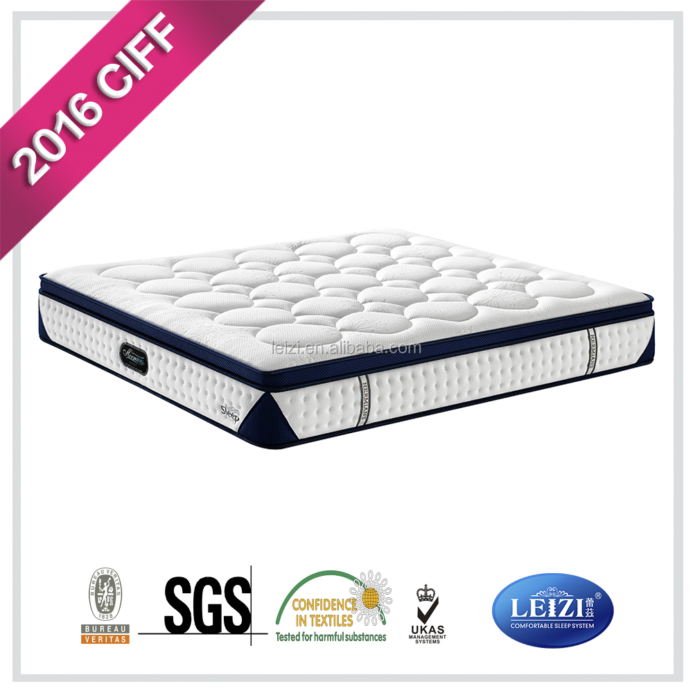 Dreamwell memory foam pocket coil king size spring mattress