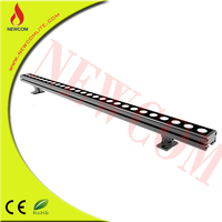 220V DMX Linear Light RGB Color IP67 Waterproof Strong light, light up 12 to 15meters