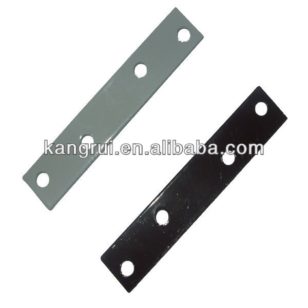 Hardware Metal Bracket Wood Connector Lightweight Flat Strap (L)80mm x (W)15mm x (T)2mm ironmongery Joinery