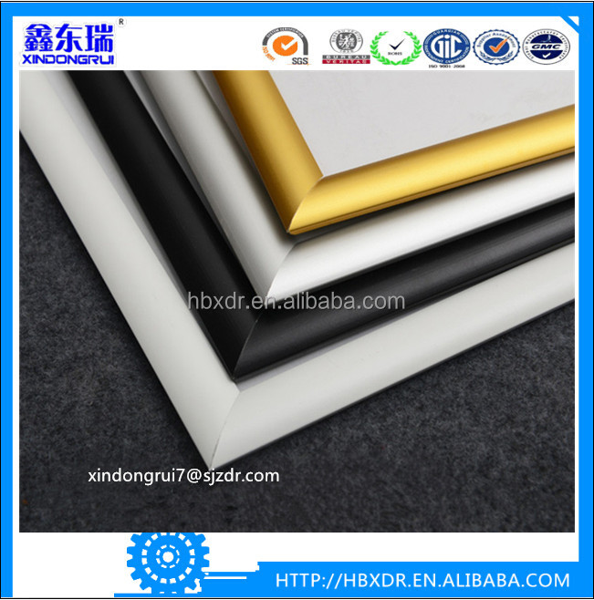 New and hot different types aluminum photo frame hot selling in 2016