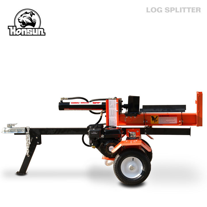 Europe standard Honda GX200, B&S I/C, B&S Vanguard powered hydraulic 18tonne log wood splitter