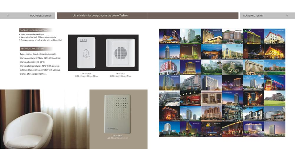 Electronics Doorplate System for Hotel RCU