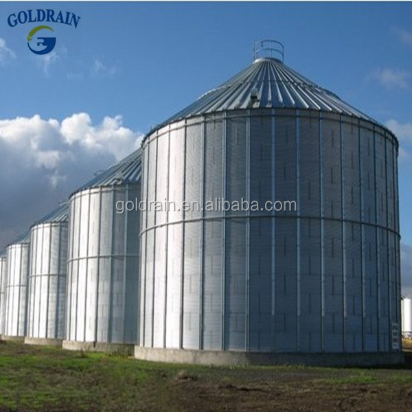 Hot Galvanized Wheat Storage Silo