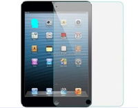 0.26mm & 2.5D glass screen protector/clear gold tempered glass screen protector for iPad mini