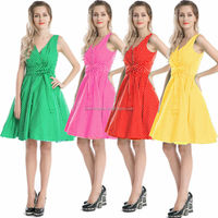 Walson bestdress China supplier Retro Inspired Vintage 50s swing dresses