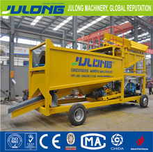high recovery rate gold mining trommel screen machine