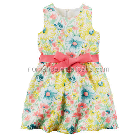 Most popular fashion kids flower girl dress