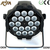 Pro Sound And Stage Lighting RGBW 4IN1 Led 18 10w Par Light