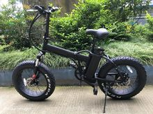 CE 20 inch folding e bike motor electric bicycle fat tire beach cruiser electric bike foldable elektrik motor bike
