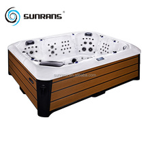 2017 Sunrans acrylic massage hot tub spa for 7 people