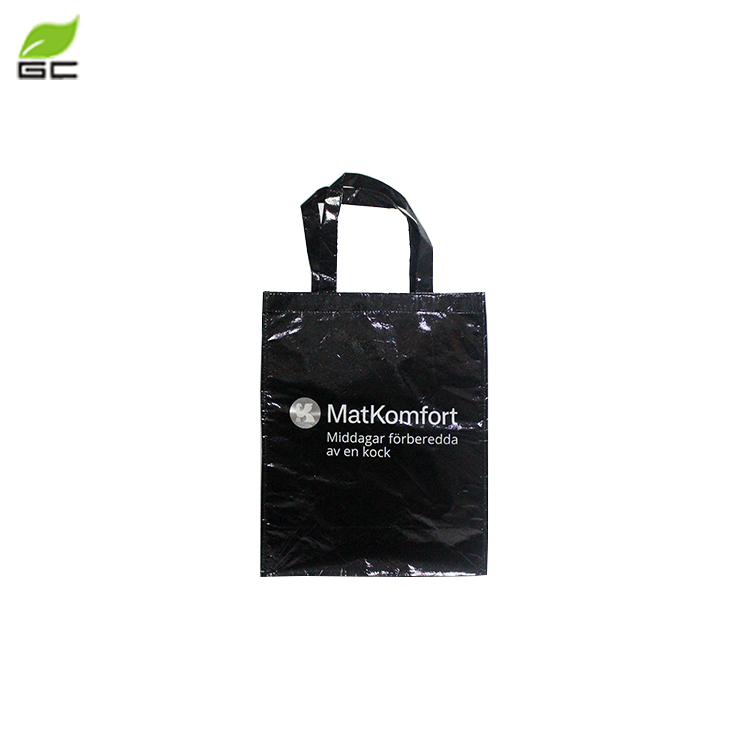 Shopping custom length handle foldable non woven carrying bag with own logo