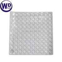 Clear Silicon Cabinet Door Pad Bumper Stop Damper Cushion