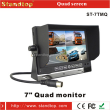 high quality 7 inch tft lcd split touch screen monitor