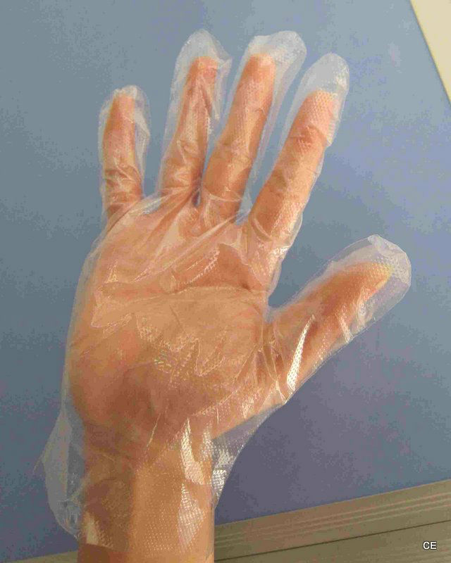 nursing LDPE gloves