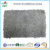 chenille washable microfiber water absorbing mat