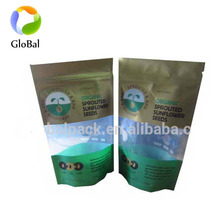 Resealable soft plastic small ziplock plastic bag for food