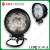 "EMS Function Round 4.3"" 27W 6000K Pure White CE RoHS 1890LM LED Truck Work Lights"