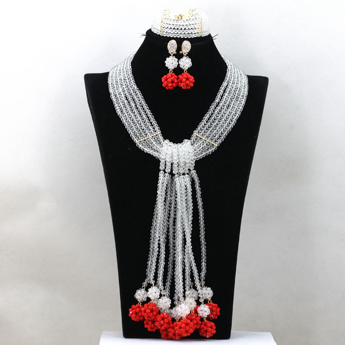 african nigeria coral beads, coral beads necklace