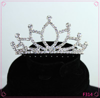 Custom Beauty Crowns Handmade Tiaras Princess Tiaras for Girls Real Diamond Wholesale