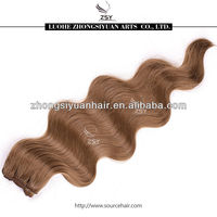 ZSY cheappest soft tangle free 22 inches synthetic hair weaves
