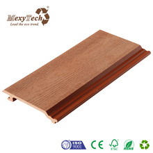 wholesale home and garden decoration house covering wood plastic composite wall panel
