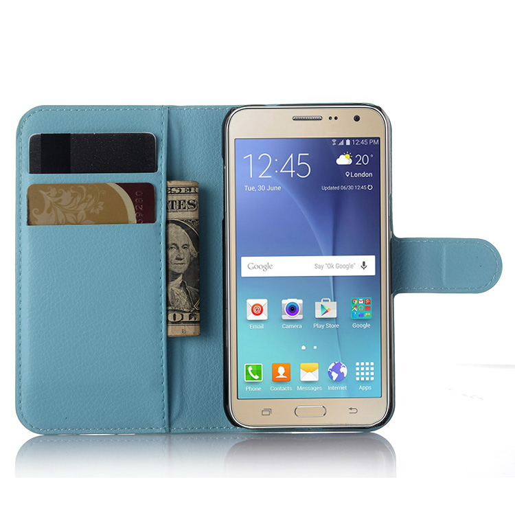 Modern Crazy Selling for samsung for galaxy j3 leather cover