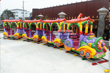 carnival games outdoor lighted electric train christmas
