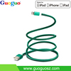 OEM MFI Certified Supplier Guoguo MFI PU Leather Cable for iPhone 6s 6s plus, 6, 6 plus, 5s