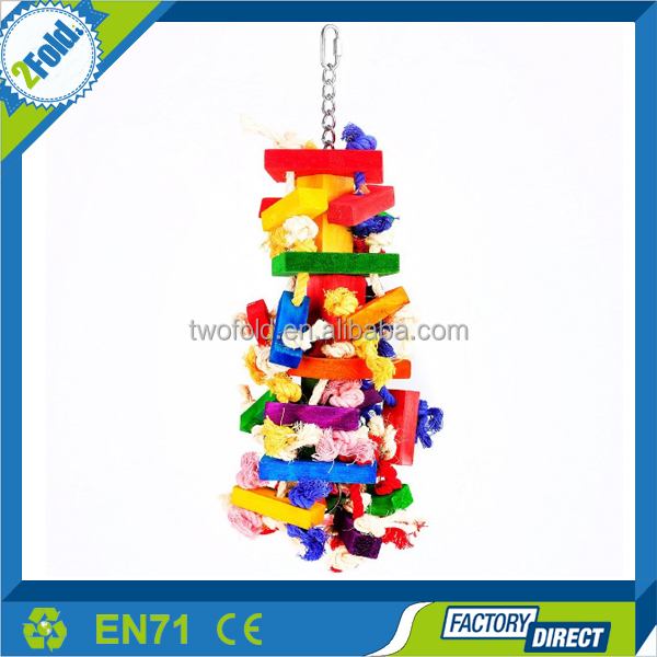 Chewing Hanging Toy For Birds Parrot